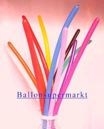 Modellierballons im Ballonshop