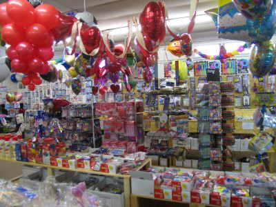 Luftballons im Ballonshop