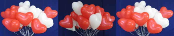 Anwendungsmöglichkeiten zu Herzluftballons