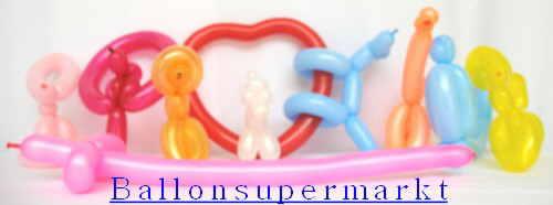 Modellierballons Beispiele